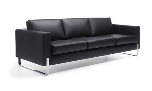 Canapé 3 place en cuir
