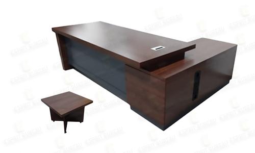 Bureau direction avec table basse