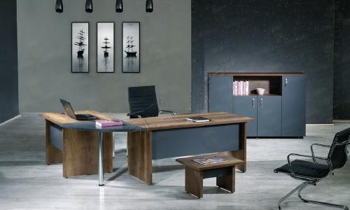 Ensemble bureau / table basse / meuble
