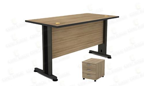 Bureau en bois melaminé