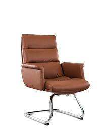 Fauteuil et siège visiteur en cuir