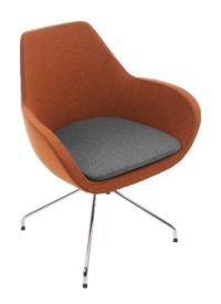 Fauteuil visiteur  Chaise design visiteur Couleur au choix