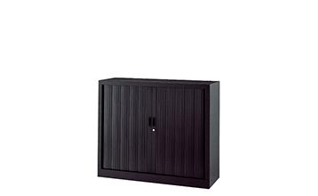 armoire basse porte rideau, rangement basse porte rideau GAPSA
