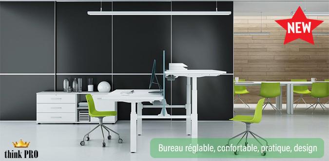 bureau reglable en hauteur bureau reglable assis debout smart office