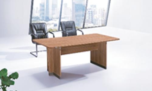 Table de réunion en bois